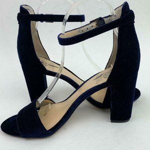 VINCE CAMUTO velvet Corlina Ankle Strap Sandal sz8
